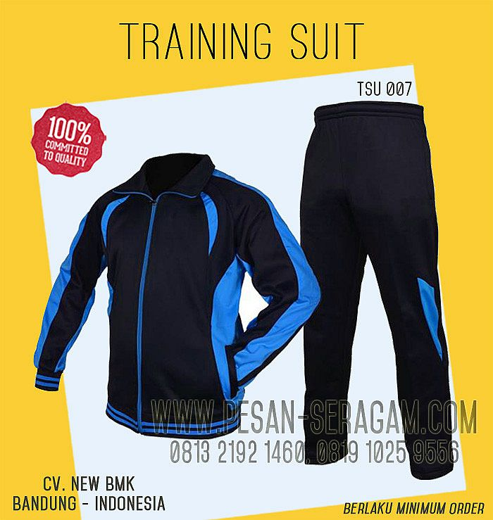 TRAINING SUIT OLAHRAGA TSU 007